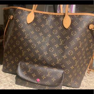 Louis Vuitton Neverfull GM & Emilie wallet